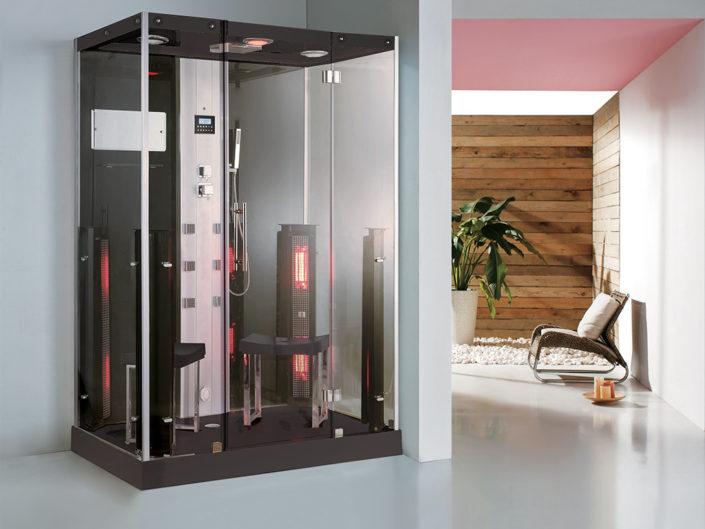 Boreal Combine Sauna Douche Hamam Duo 145