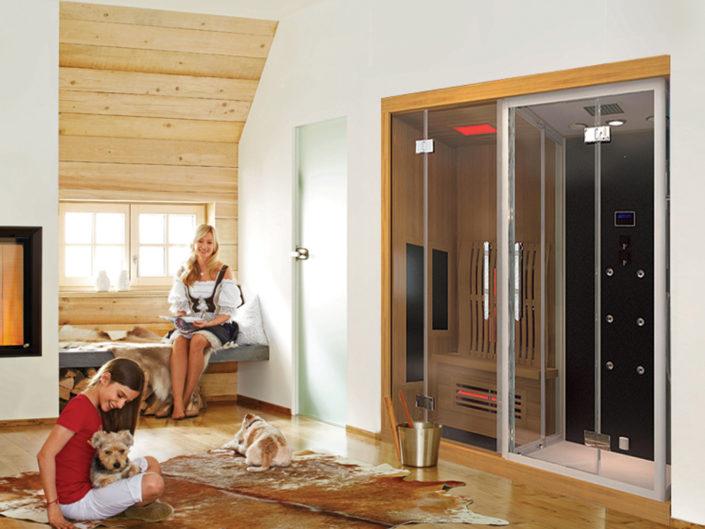Boreal Combine Sauna Douche Hamam Sigma 1820