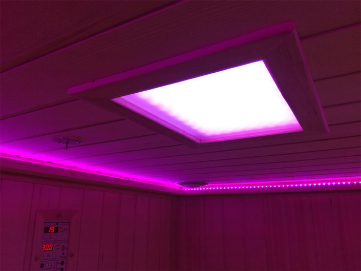 Boreal Sauna Infrarouge led