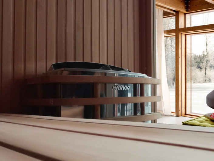 Boreal Sauna Traditionnel poele