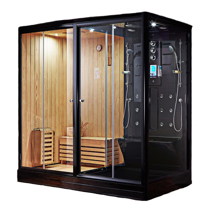 Boreal Combine Sauna Douche Hamam SH 200 Black Edition 2019
